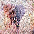 Elephant Faux Vintage Grunge by angelandspot