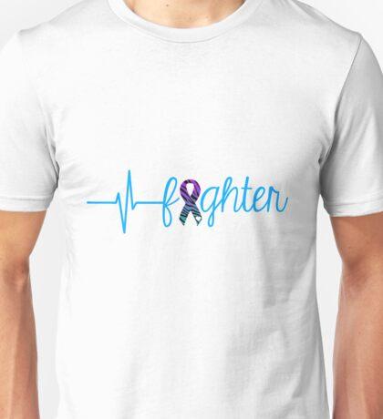 Fighter - Zebra Unisex T-Shirt