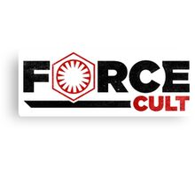 Force Cult Canvas Print