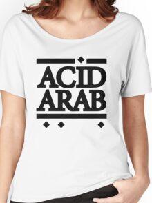 Acid Arab Black Women's Relaxed Fit T-Shirt