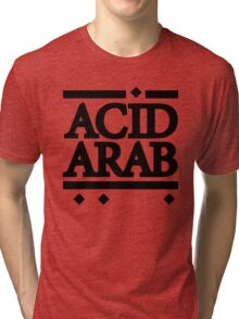 Acid Arab Black Tri-blend T-Shirt