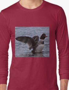 Sea Duck Stretching Long Sleeve T-Shirt