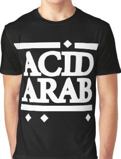 Acid Arab White Graphic T-Shirt