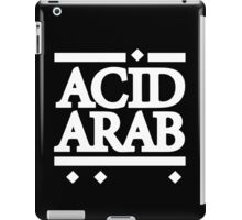 Acid Arab White iPad Case/Skin