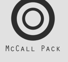 mccall pack Sticker