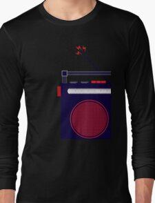 Funky Little Radio Long Sleeve T-Shirt