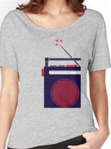 Funky Little Radio Women's Relaxed Fit T-Shirt