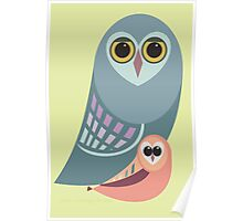 BIG OWL & ITTY BITTY OWL Poster