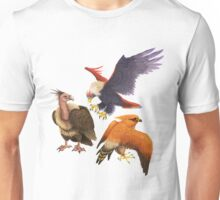 PokéBirds of Prey II Unisex T-Shirt