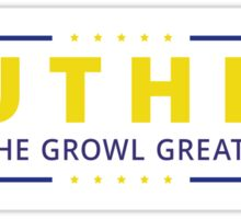Make The Growl Great Again! Sticker