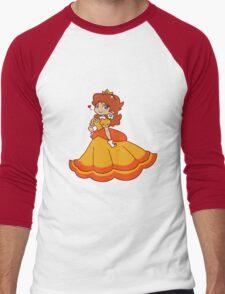 Princess Daisy Men's Baseball ¾ T-Shirt