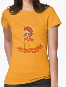Princess Daisy Womens Fitted T-Shirt