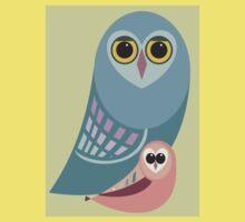 BIG OWL & ITTY BITTY OWL Kids Tee
