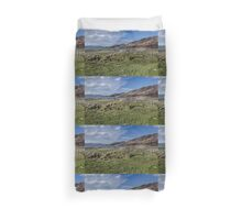 Dunree Head and Bay Duvet Cover