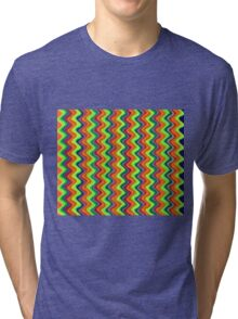 Psychedelic Waves  Tri-blend T-Shirt