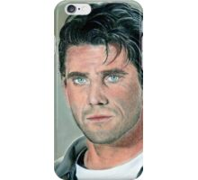 "hand drawing with pastels ""Mel Gibson"" iPhone Case/Skin"