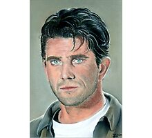 """hand drawing with pastels """"Mel Gibson"""" Photographic Print"""