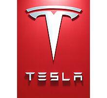 Tesla Red 1 Photographic Print