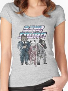 Vintage Grunge Bear Squad Women's Fitted Scoop T-Shirt