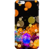 Bokeh Dot Bubbles #1 iPhone Case/Skin