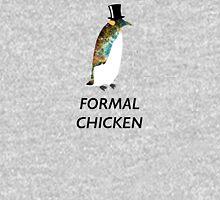 Psychedelic Formal Chicken Penguin Unisex T-Shirt