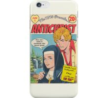 Antichrist by The 1975 Comic  iPhone Case/Skin