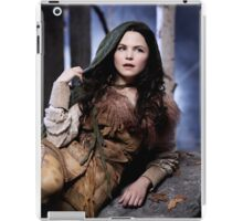 Snow Poster - Once Upon a Time iPad Case/Skin