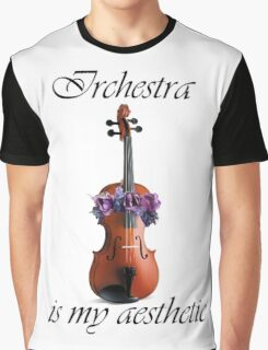 Orchestra is my Aesthetic Graphic T-Shirt