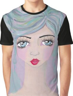 Pink girl Graphic T-Shirt