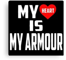 Twenty One Pilots - My Heart Is My Armour Canvas Print