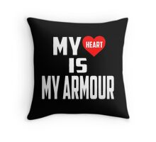 Twenty One Pilots - My Heart Is My Armour Throw Pillow