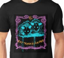 Eat Trash and Live Free Unisex T-Shirt