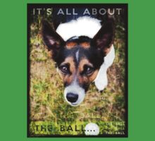 Terrier Obsession: It's All About The Ball Kids Tee