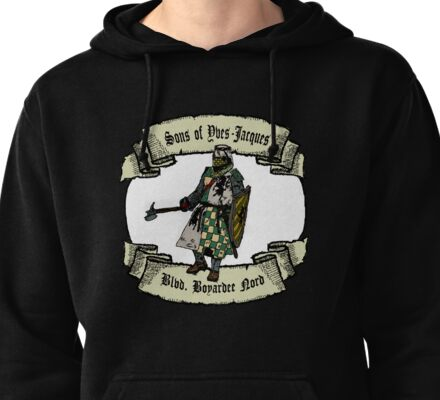 Sons of Yves-Jacques Pullover Hoodie