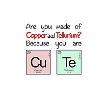 "Elements - ""You Are Cute"" Photographic Print"