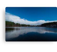 Reflection on Crystal Lake Canvas Print