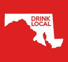 Maryland Drink Local MD Kids Tee
