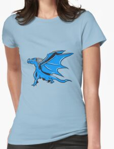 Dragon Wing cool Womens Fitted T-Shirt
