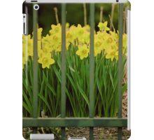 Spring Fenced In iPad Case/Skin