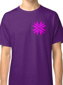 Purple Clover Ribbon Classic T-Shirt