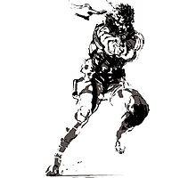Metal Gear Solid - Solid Snake Photographic Print