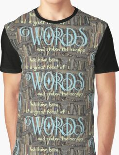 A Great Feast Of Words Graphic T-Shirt
