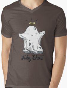Holey Sheet Mens V-Neck T-Shirt