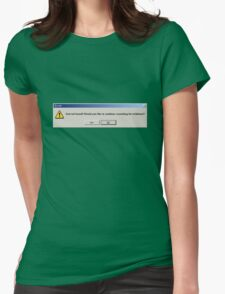 Error: God Not Found-heic1107a Womens Fitted T-Shirt