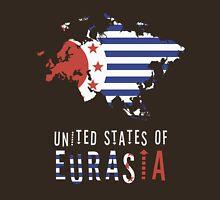Map of Eurasia (The United States of) Unisex T-Shirt