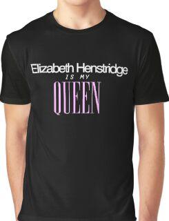 Elizabeth Henstridge is my Queen! Graphic T-Shirt