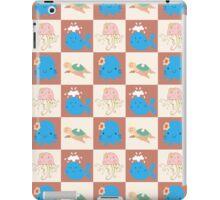 Cute Sea Creature Pattern iPad Case/Skin