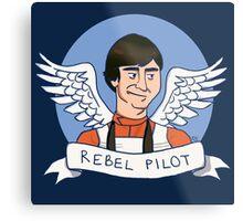 Wedge Antilles: Rebel Pilot Metal Print