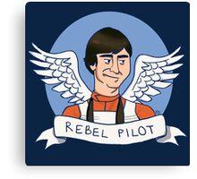 Wedge Antilles: Rebel Pilot Canvas Print