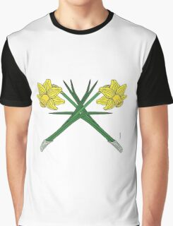 Daffodils Crossed Graphic T-Shirt